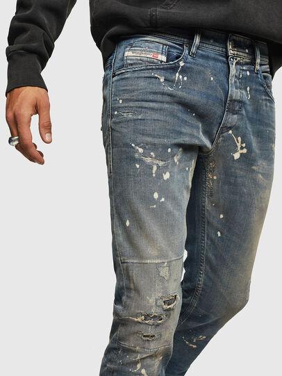 Diesel - Thommer JoggJeans 0870X, Bleu moyen - Jeans - Image 3