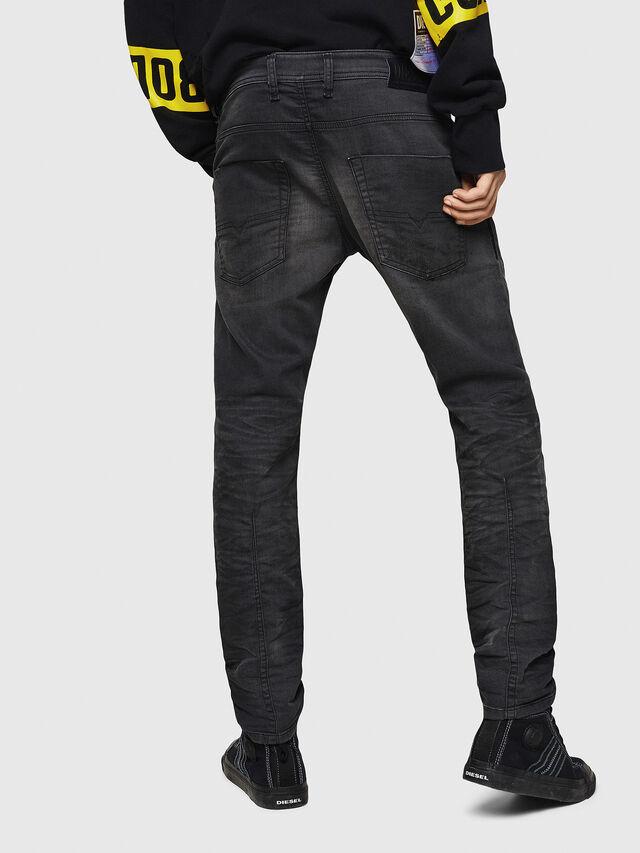 Diesel - Krooley JoggJeans 069GN, Noir/Gris foncé - Jeans - Image 2