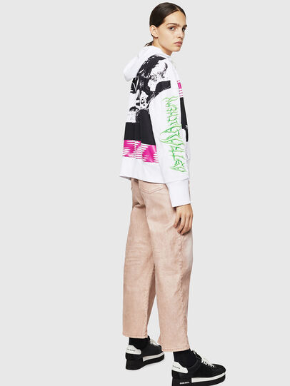 Diesel - F-MAGDALENA, Blanc - Pull Cotton - Image 6