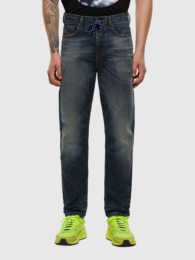 D-Vider JoggJeans 069NT, Bleu Foncé - Jeans