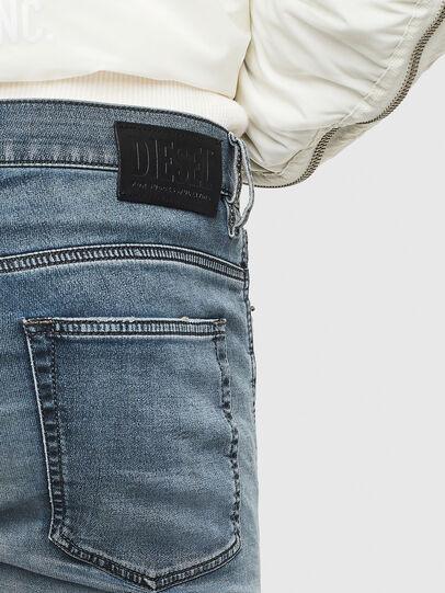 Diesel - D-Reeft JoggJeans 069LT, Bleu Foncé - Jeans - Image 5