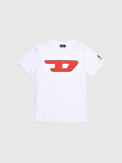 Diesel - TJUSTDIVISION-D, Blanc - T-shirts et Hauts - Image 1