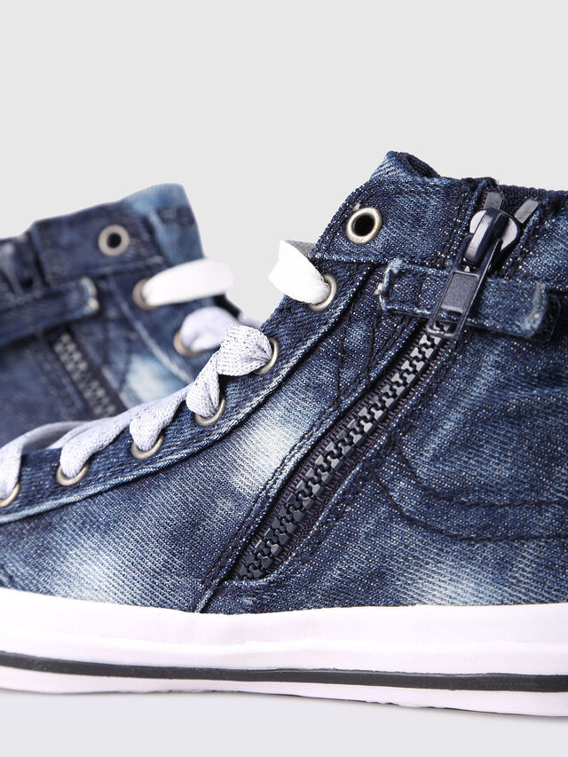 Diesel - SN MID 20 EXPOSURE Y, Jean Bleu - Footwear - Image 4