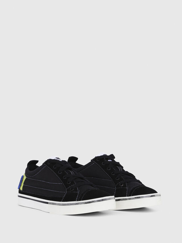 Diesel - D-VELOWS LOW PATCH W, Noir - Baskets - Image 2