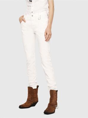 Krailey JoggJeans 069DS, Blanc - Jeans
