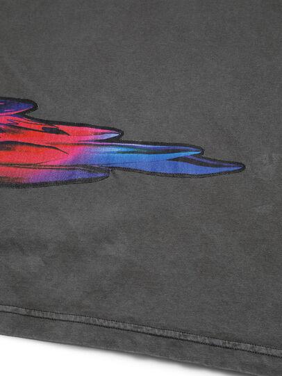 Diesel - D-5055-G, Noir - T-Shirts - Image 5