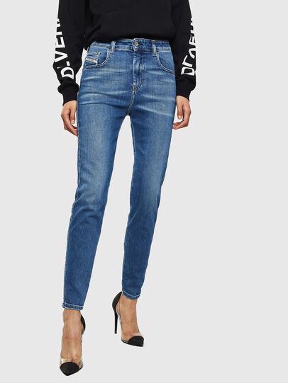 Diesel - Slandy High 009AG, Bleu moyen - Jeans - Image 1