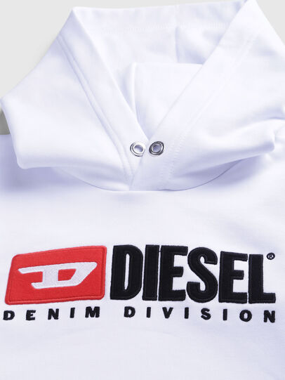 Diesel - SDIVISION OVER, Blanc - Pull Cotton - Image 3