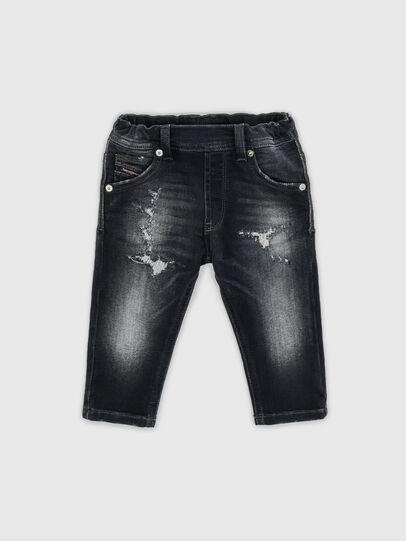 Diesel - KROOLEY-JOGGJEANS-B-N, Noir - Jeans - Image 1