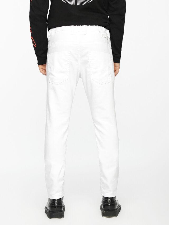 Diesel - Krooley JoggJeans 0684U, Blanc - Jeans - Image 3