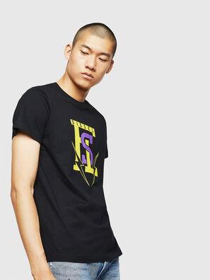 T-DIEGO-B3, Noir - T-Shirts