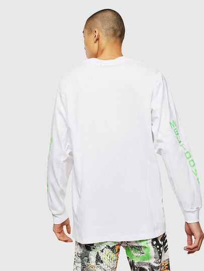 Diesel - T-GLYNIS-J1, Blanc - T-Shirts - Image 3
