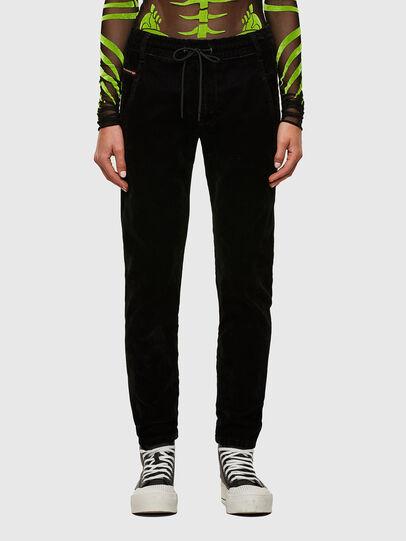 Diesel - Krailey JoggJeans® 069TB, Noir/Gris foncé - Jeans - Image 1