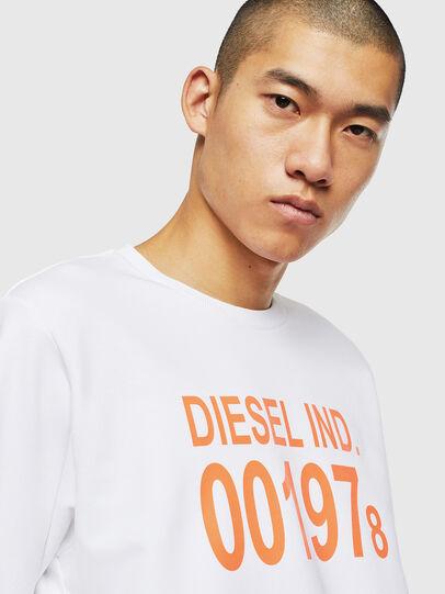 Diesel - S-GIRK-J3, Blanc - Pull Cotton - Image 3