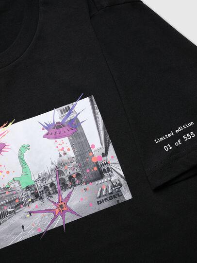 Diesel - VE-T-JUST-SMARCO, Noir - T-Shirts - Image 4