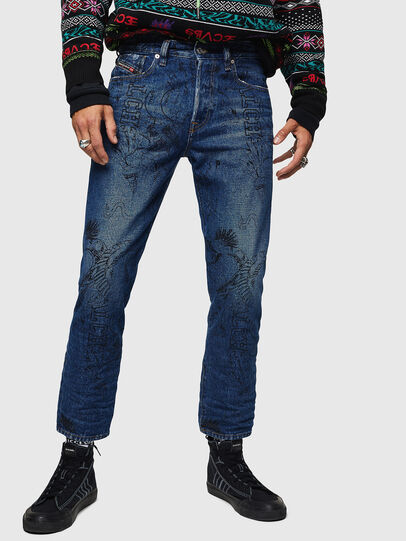 Diesel - Mharky 0078S, Bleu moyen - Jeans - Image 1