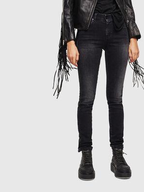 Sandy 0096P, Noir/Gris foncé - Jeans