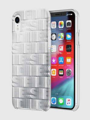 DIESEL PRINTED CO-MOLD CASE FOR IPHONE XR, Blanc - Coques