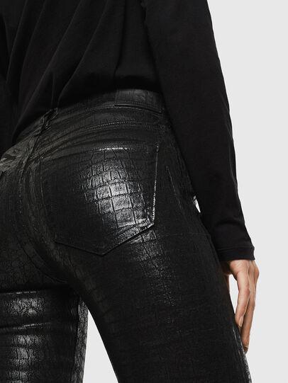 Diesel - Slandy 0094S, Noir/Gris foncé - Jeans - Image 4