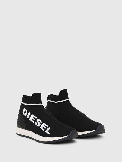 Diesel - SLIP ON 03 LOW SOCK, Noir - Footwear - Image 2