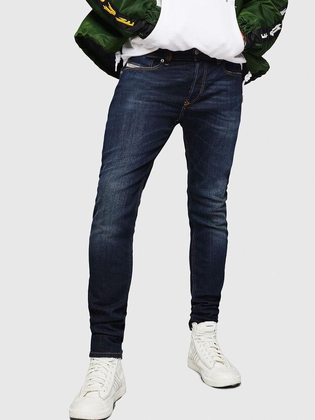 Sleenker 083AW, Bleu Foncé - Jeans