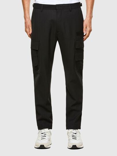 Diesel - P-HOMEN, Noir - Pantalons - Image 1