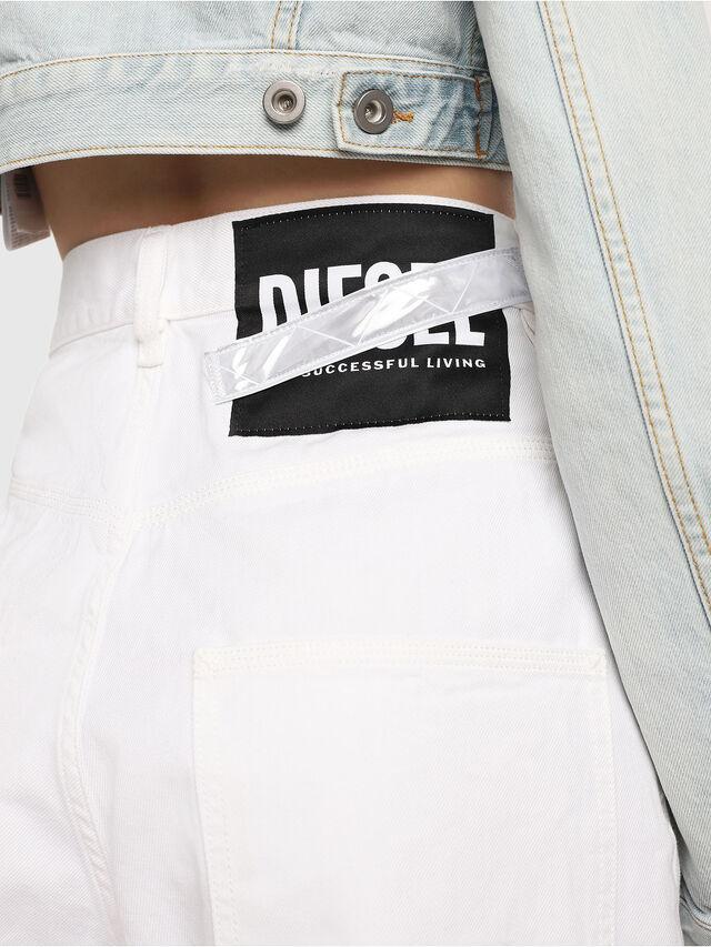 Diesel - D-Luite 069EE, Blanc - Jeans - Image 4