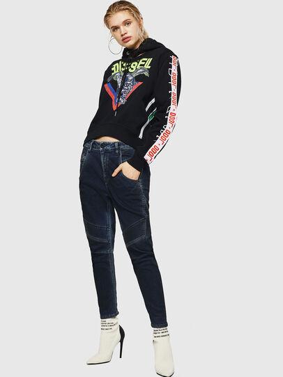 Diesel - Fayza JoggJeans 069HY, Bleu Foncé - Jeans - Image 5