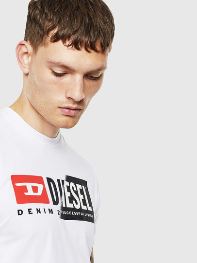Diesel - T-DIEGO-CUTY, Blanc - T-Shirts - Image 5