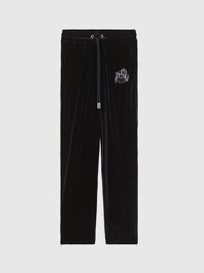 P-CHINILLE, Noir - Pantalons