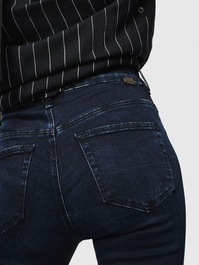 Diesel - Slandy High 082AU, Bleu Foncé - Jeans - Image 3
