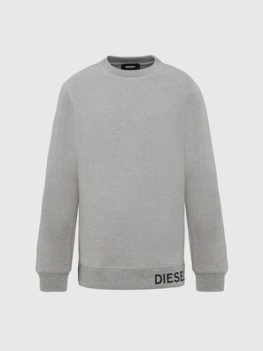 S-PEWTER, Gris - Pull Cotton
