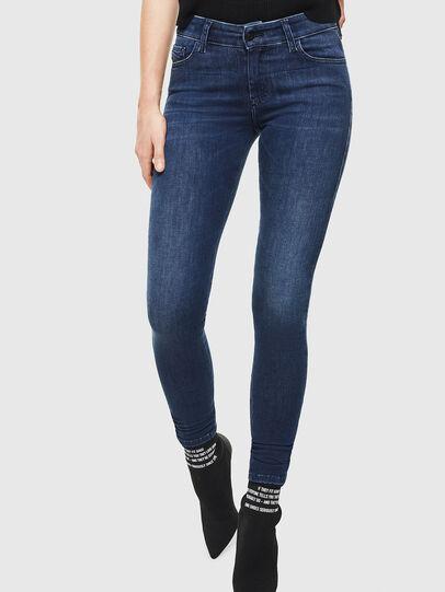 Diesel - Slandy 0890K, Bleu Foncé - Jeans - Image 1
