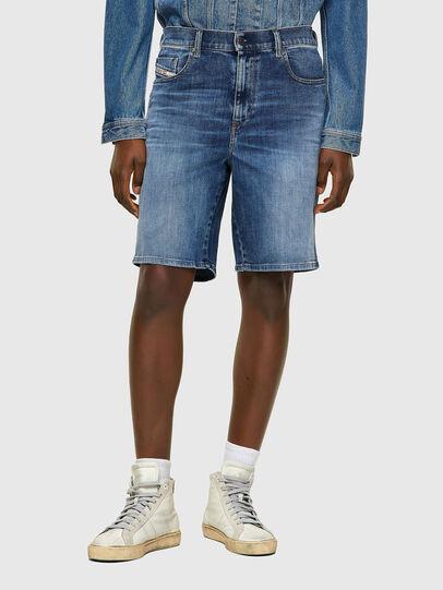 Diesel - D-STRUKT-SHORT, Bleu moyen - Shorts - Image 1