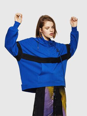 F-AVAL, Bleu Brillant - Pull Cotton