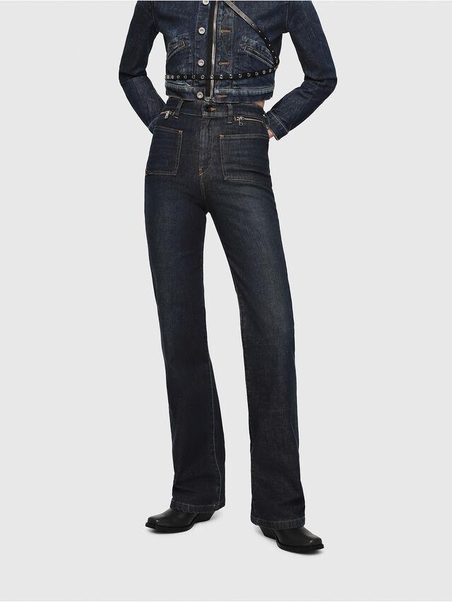 Diesel - D-Pending 080AK, Bleu Foncé - Jeans - Image 1