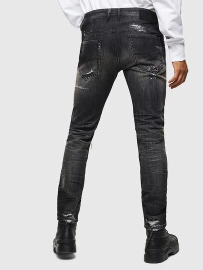 Diesel - Thommer JoggJeans 0098E, Noir/Gris foncé - Jeans - Image 2