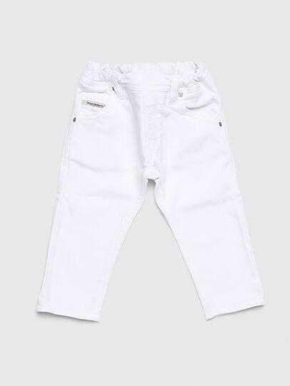 Diesel - KROOLEY JOGGJEANS-B-N, Blanc - Jeans - Image 1