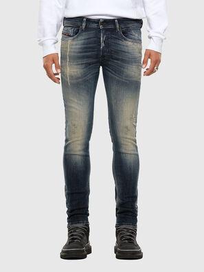 Sleenker 069NI, Bleu Foncé - Jeans