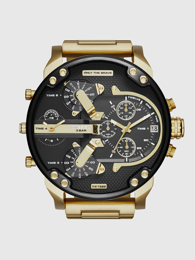 Diesel - DZ7333 MR. DADDY 2.0, Or - Montres - Image 1