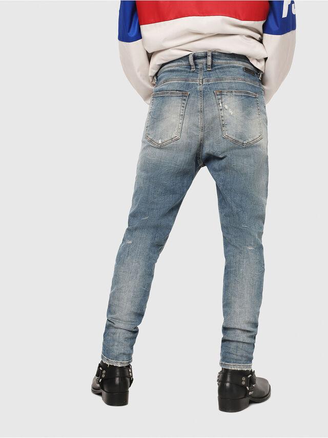 Diesel - D-Vider JoggJeans 087AD, Bleu moyen - Jeans - Image 2