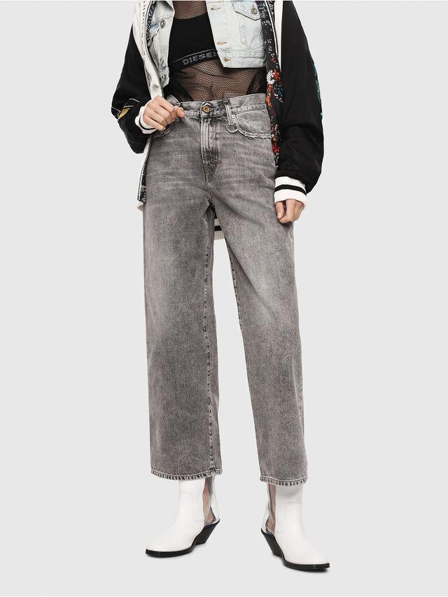 Diesel - Widee 8880X, Gris Clair - Jeans - Image 1
