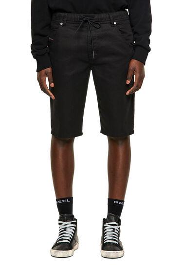 Short slim en JoggJeans® surteint