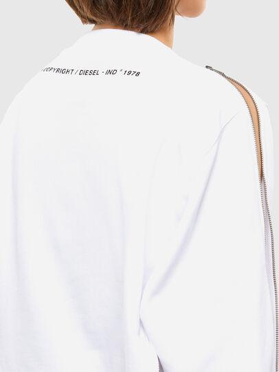 Diesel - F-ROSETTA, Blanc - Pull Cotton - Image 6