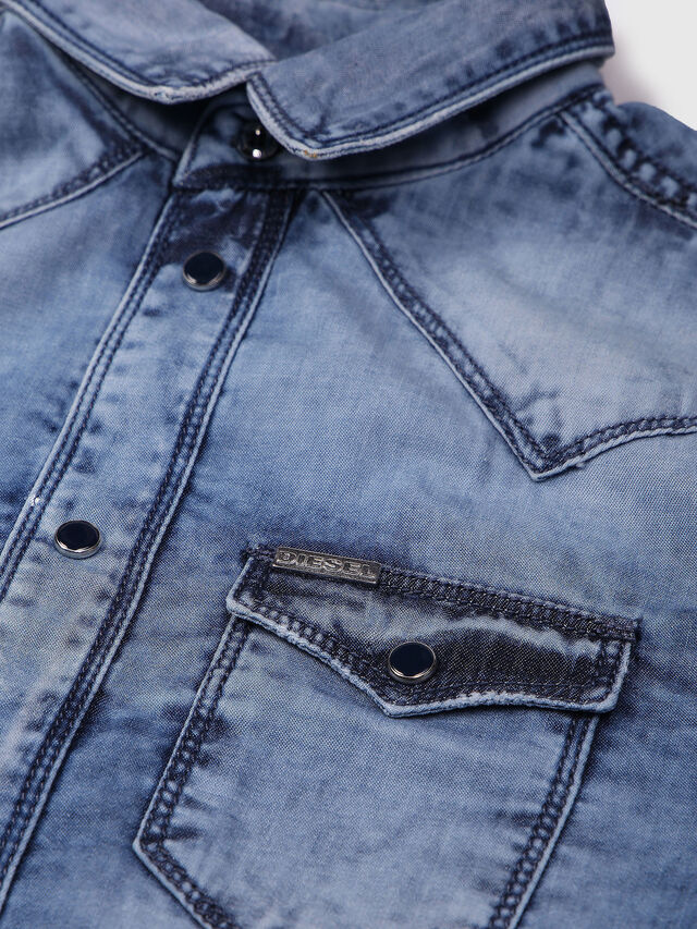 KIDS CIRIX, Bleu Clair - Chemises - Image 3