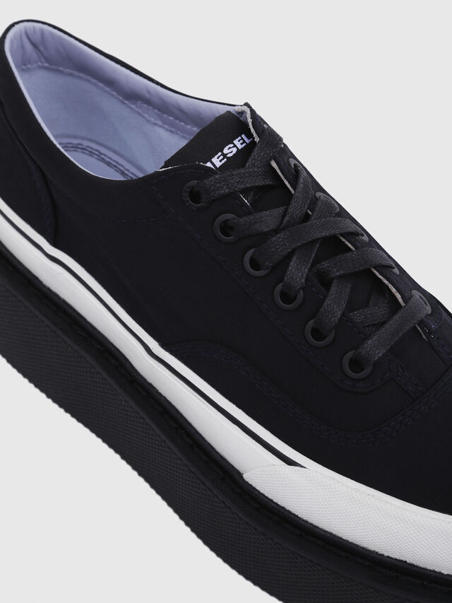 Diesel - H-SCIROCCO LOW, Noir - Baskets - Image 5