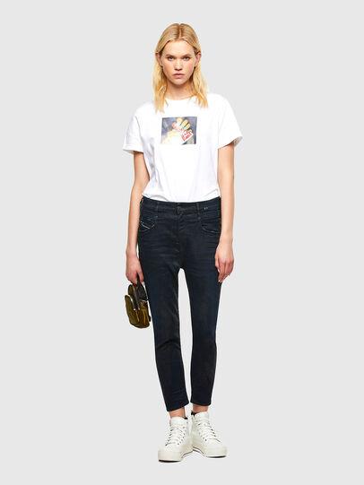 Diesel - Fayza JoggJeans® 069RW, Bleu Foncé - Jeans - Image 5