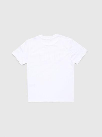 Diesel - TJUSTA9, Blanc - T-shirts et Hauts - Image 2