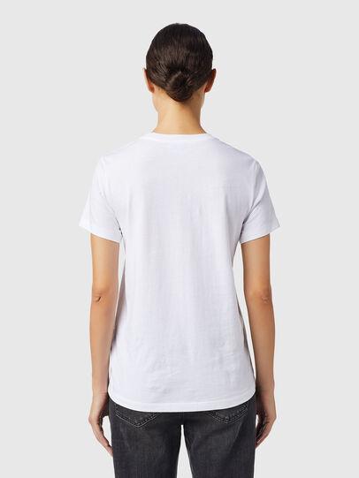 Diesel - T-SILY-B6, Blanc - T-Shirts - Image 2