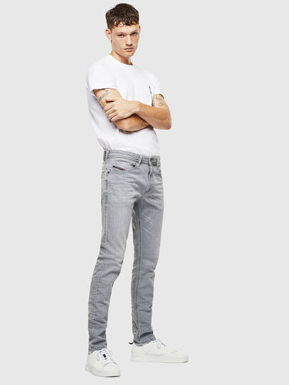 Diesel - Thommer 0890E, Gris Clair - Jeans - Image 6